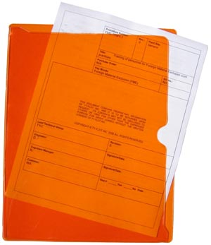 Tinted Document Protectors